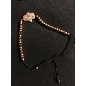 Jewelry - BRAND NEW Hamsa Bracelet With Bag (NEVER WORN) 🎁